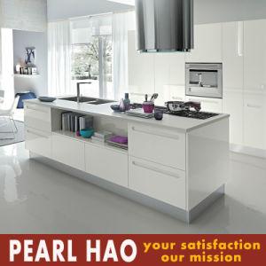 Australia Modern Style White MDF Acrylic Kitchen Furniture