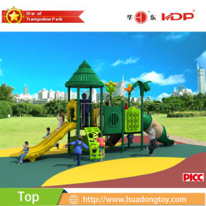 2017 New High-Quality Outdoor Playground Equipment Slide Kids Playground (HD17-014C) pictures & photos