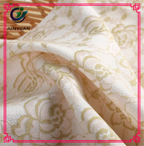 Polyester Chemical Lace Fabric Hot Sale for Women pictures & photos