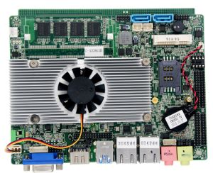 Industrial PC 3.5inch Motherboard with I5-5200u and 4GB RAM pictures & photos