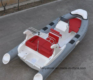 Liya Hyp660b 22FT Fiberglass Rubber Rib Boat Inflatable Tourist Boats pictures & photos