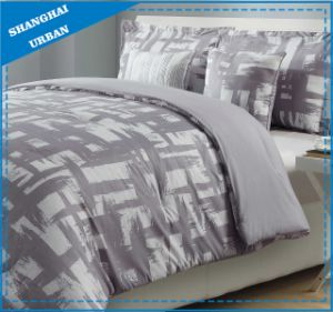 Geometry Design Printed Cotton Duvet Cover Bedding pictures & photos