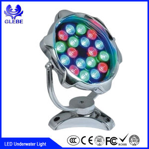 18W 36W RGBW Full Color Changing High Power LED Underwater Light Used for Fountain and Boat pictures & photos