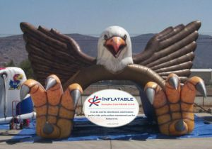 Inflatable Blast Eagle Mascot Tunnel for Football Sports Team pictures & photos