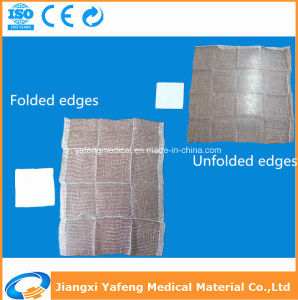 Disposable Medical Gauze Sponge 100% Absorbent Cotton pictures & photos
