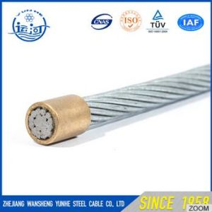 1X7 Galvanized Steel Wire/ Galvanized Steel Cable Steel Wire Rope From China Factory