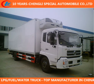 30cbm Refrigerated Truck 35cbm Freezer Van Truck Dongfeng 4X2 185HP Refrigerator Truck pictures & photos