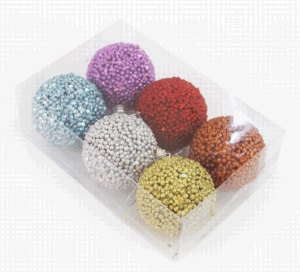 Colorful Christmas Decoration Ball with Paillette