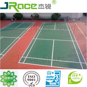 Indoor Badminton Court Surface Material pictures & photos
