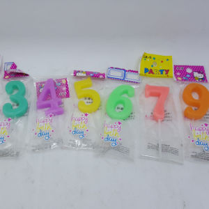 Wholesale Cheap China Happy Number Birthday Candle pictures & photos