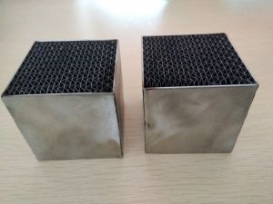 Vehicle/Motorcycle Catalytic Converter Catalyst Metal Honeycomb Substrate pictures & photos