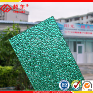 Roofing Greenhouse Polycarbonate Solid Hollow PC Embossed Sheet 100% Virgin Lexan Material Plastic Building Factory Price pictures & photos