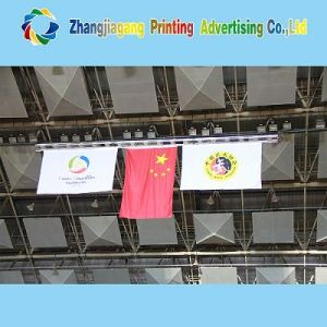 Indoor Display Hanging Flag Banner for Advertising