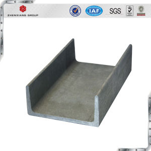 JIS Ss400 Hot Rolled Galvanized Channel Steel Manufactures pictures & photos