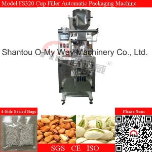 Cup Filler Pneumatic Type Vertical Form Fill Seal Bagger Machine pictures & photos