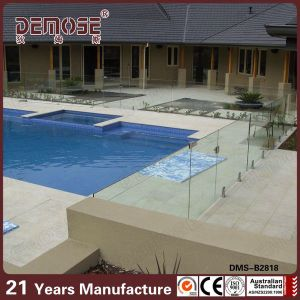 Temporary Above Ground Pool Frameless Glass Fence DMS B2818