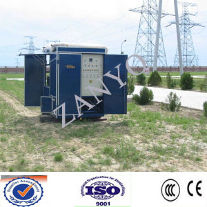 Double Stages Transformer Oil Purification Plant with High Vacuum