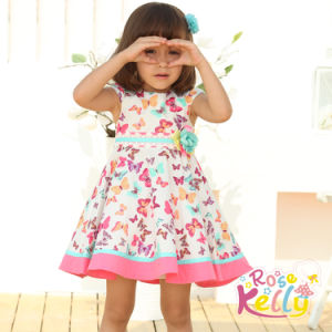 China Butterfly Baby Clothes Dress Summer Baby Wear In Infant