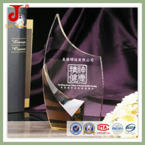 2016 Hot Sell Crystal Glass Award Trophy of High Quality pictures & photos