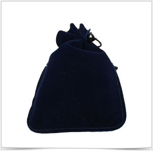 Double Side Drawstring Microfiber Pouches for Jewelry pictures & photos