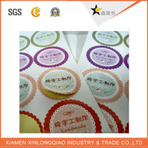 Custom Paper PVC Decal Label Printing Self-Adhesive Printed Sticker pictures & photos