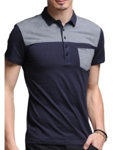 China Pockets New Style Men Sublimated Slim Fit Mens Polo Shirts ... 67dce33e4066