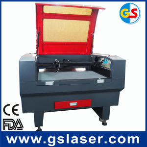 Laser Engraving and Cutting Machine Price for Labels, Trade Mark, Embroidery Cutting pictures & photos