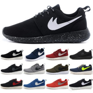 premium selection b18e7 08479 24 Color Model Roshe Run Shoes for Kids Men and Women Sport Shoes OEM