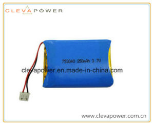 Li-Polymer Battery with 3.7V/850mAh for GPS Tracing System