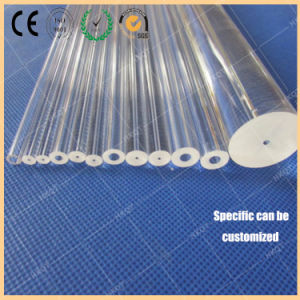 Quartz Rod of 0.1-2mm Fiber Is Made of Quartz Rod High Purity and High Transmittance pictures & photos