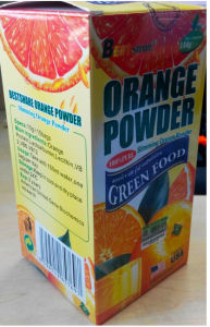 No. 1 Best Orange Powder Loss Weight Drinks pictures & photos