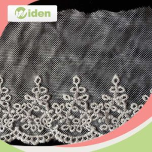 OEM Factory Beautiful Net Embroidery Lace for Wedding Invitation pictures & photos