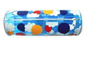 Custom Print Cute PVC Plastic Stationery Bag Pencil Case