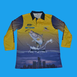Sublimation Fishing Shirt|Sublimated Fishing Shirt From Factory Supplier