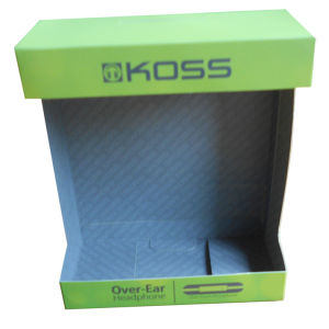 Branded Paper Display Box for Electronic Product (HeadPhone)