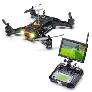 Eachine Racer 250 Fpv Drone W/ Eachine I6 2.4G 6CH Transmitter 7 Inch 32CH Monitor HD Camera RC Drone Quadcopter RTF