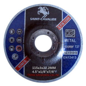 "Cutting Disc Grinding Disc-4.5""X1/8""X7/8"" pictures & photos"