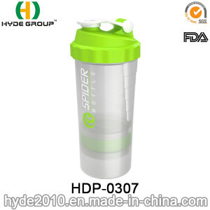 500ml BPA Free Customized Plastic Spider Shaker Bottle, Plastic Water Bottle (HDP-0307) pictures & photos
