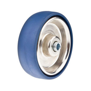 Polyurethane with Stainless Steel Core (Blue) Wheel