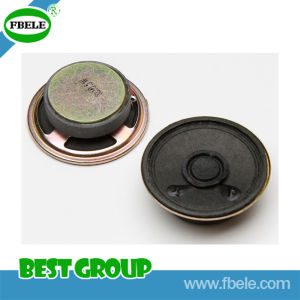 Fbs45b 8ohm Waterproof Mylar Speaker with Bonding Wire (FBELE) pictures & photos