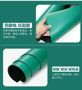 Lab Antistatic ESD Cleanroom Rubber Mat for Table/Floor pictures & photos