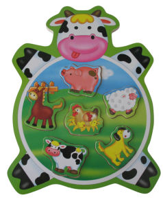 Wooden Puzzles Animal Shaped Wooden Toy (34205A) pictures & photos