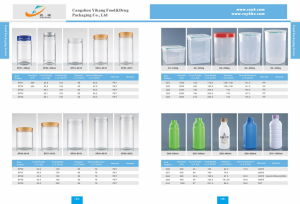 Clear Bottles for Food Plastic Packaging pictures & photos