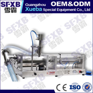 Sfgy-1000 Full Pneumatic Semi Automatic Liquid Filling Machine