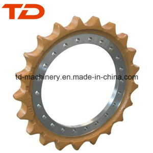 Excavator Drive Sprocket Drive Roller R55-7 R60-7 R130 R130-17 R200 R305 Hyundai Excavator Sprocket for Undercarriage Parts
