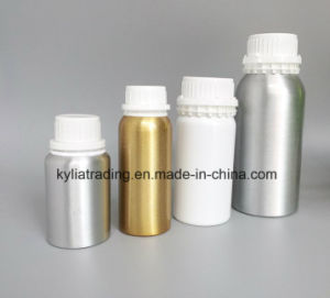 50ml Silver Essential Oil Aluminum Bottle with Seal Cap Aeob-1 pictures & photos