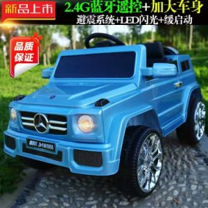 New Purple Toy Car with Remote Control / Kids Battery Operated Toy Car LC-Car069 pictures & photos