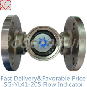 Flanged Paddle Wheel Flow Indicator for Oil Pipeline pictures & photos