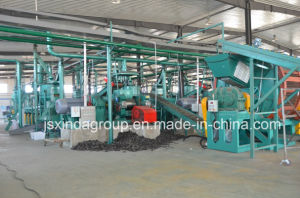 Waste Tire Recycling Rubber Powder Crumb Machine Plant Line pictures & photos