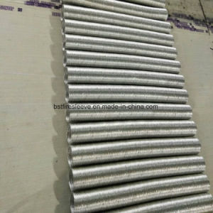 Heat Shield Fiber Glass Aluminium Protective Corrugated Tube pictures & photos